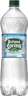 Poland Spring Sparkling Water, Simply Bubbles, 33.8 oz. Bottle