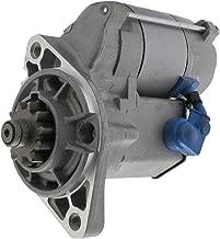 New Starter for Lister-Petter Tractor LPA2 LPWS2 LPWS3 Alpha Series 2cyl Engine 1988-2003 LPA2 LPW4 LPWT4 LPWS2 LPWS3 128000-8101 757-17980 18158 128000-1880 757-2100 1280008101 011880 S-8540