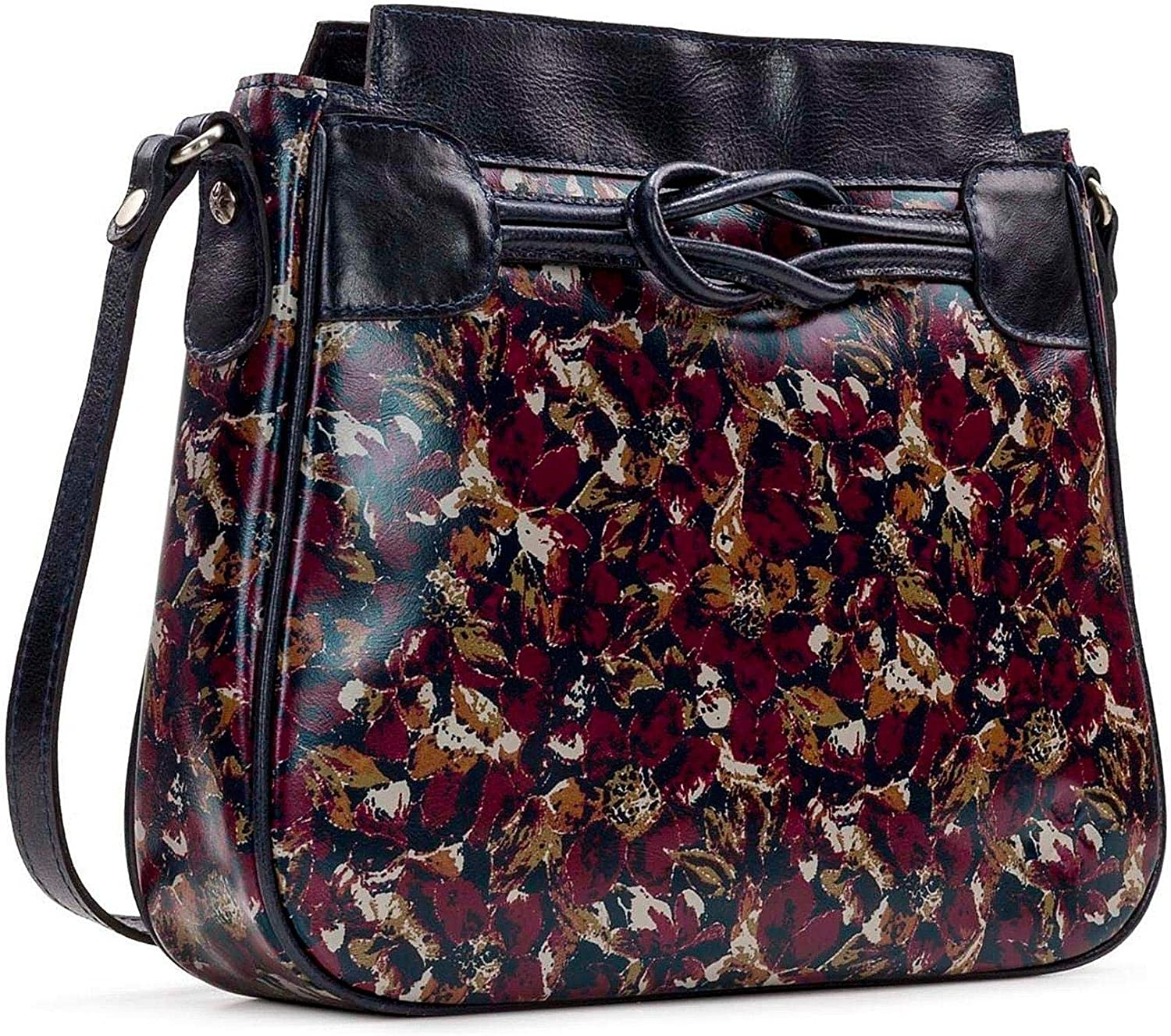 Patricia Nash Scarlet Special price for a limited time Max 77% OFF Bloom Collection Bag Antilly Sling Leather