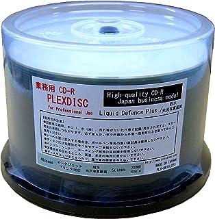 業務用 Officeブランド CD-R 耐水/光沢写真画質 ワイドプリンタブル 52倍速 700MB 50枚 (50枚スピンドル×1) (CR80JW600LD-AAA50) ウォーターシールド