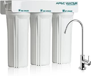 APEC WFS-1000 Super Capacity Premium Quality 3 Stage Under-Sink Water Filter System (Renewed)