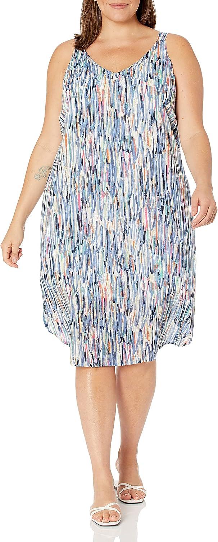 NIC+ZOE Women's Plus Size Toucan Dress