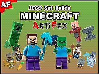Clip: Lego Set Builds Minecraft - Artifex