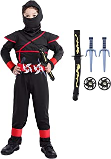 Ninja Costume for Boys 4T-14