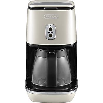 DeLonghi ICMI 211.W - Cafetera (Independiente, Cafetera de filtro, 1,25 L, De café molido, 1000 W, Blanco): Amazon.es: Hogar