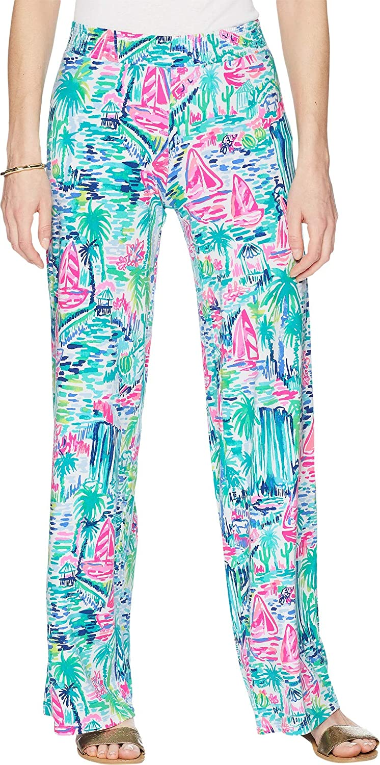 Lilly Pulitzer Womens Lorena Breezy Palazzo Pants