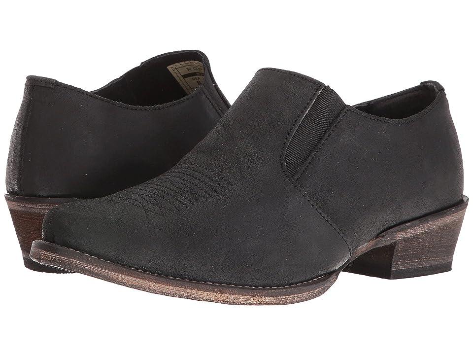 Roper Shoe Boot (Black Crazy Horse) Cowboy Boots