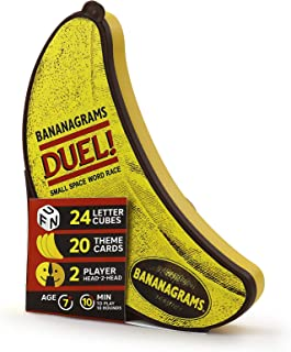 Bananagrams Duel: The Ultimate 2 Player Travel Game | Small Space Word Race