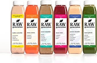 3-Day Protein Cleanse by Raw Generation® – High Protein Juice Cleanse with Dairy and Soy-Free Protein Smoothies/Lose Weight Quickly While Energizing Your Workouts/Jumpstart a Healthier Diet