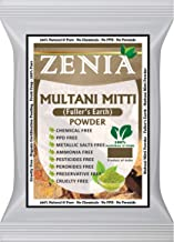 Zenia Multani Mitti Fullers Earth Clay Powder Facial Mask 100 grams