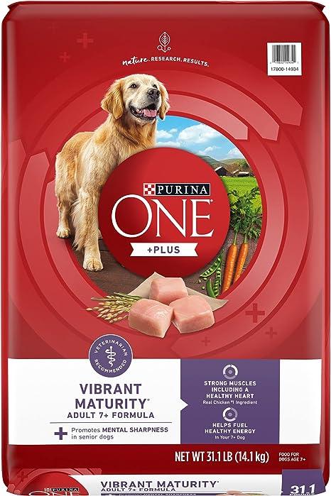 Purina ONE SmartBlend Vibrant Maturity Senior 7+ Formula Dog Food