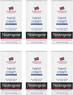 Neutrogena Norwegian Formula Moisturizing Hand Cream Formulated with Glycerin for Dry, Rough Hands, Fragrance-Free Intensi...