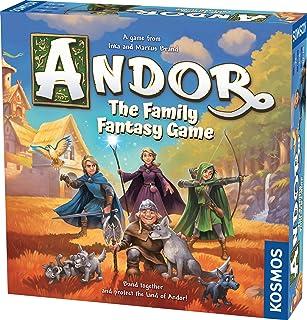 Thames and Kosmos | Kosmos Games | 691747 | Legends Of Andor: The Family Fantasy Game | Andor | Ages 7+ | 2-4 Players |