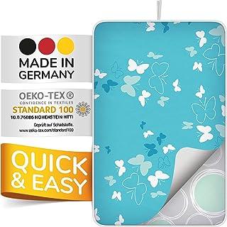 smart&gentle Made in Germany tapis de repassage sur table pour fers à vapeur 100x65cm - nappe de repassage sur table antid...
