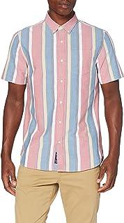 Superdry SS East Coast Oxford Shirt Camisa para Hombre
