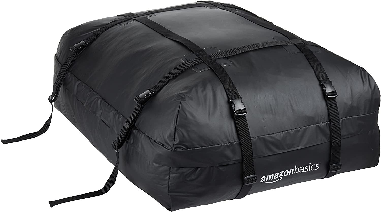 Amazon Basics Houston Mall Rooftop Ranking TOP13 Cargo Carrier Feet Bag Black Cubic 15