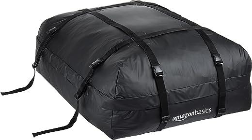 Amazon Basics – Dachgepäckträger-Tasche, Schwarz, 425 l