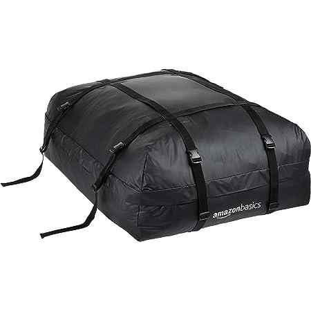 Amazon Basics Rooftop Cargo Carrier Bag, Black, 15 Cubic Feet