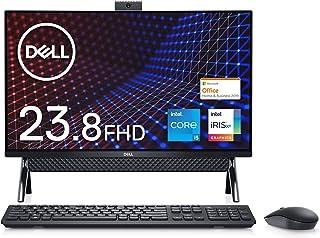 【Microsoft Office Home&Business 2019搭載】Dell フレームレスデスクトップ Inspiron 24 5400 ブラック Win10/23.8FHD/Core i5-1135G7/8GB/256GB SSD+...
