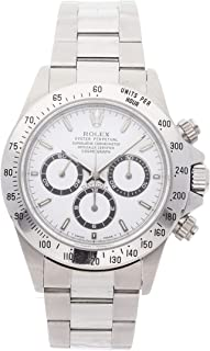 Rolex Daytona Mechanical (Automatic) White Dial Mens Watch 16520 (Certified Pre-Owned)