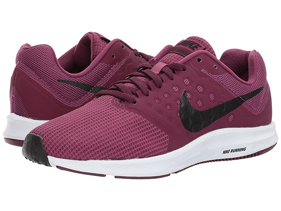 Nike Downshifter 7 (Tea Berry/Black/Bordeaux/White) Women