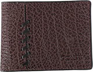 COACH Rip N Repair Accordion Wallet in Dark Saddle 75442