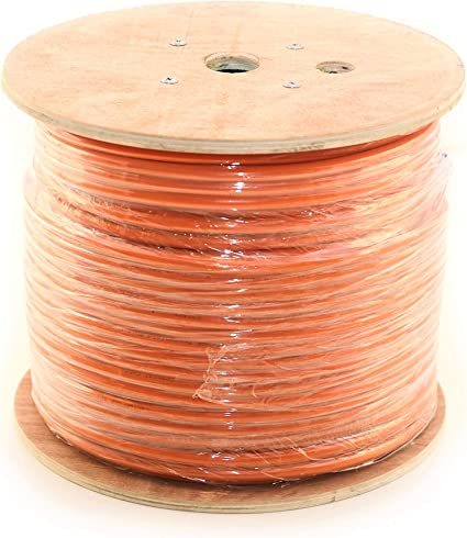 Amazon.com: RG11 Coaxial Cable roll of Tri-Shield Underground Drop Direct  Burial Flooded Coax Digital Cabling with Gel (Indoor/Outdoor) 500' or 1000' Bulk  Wire/by CableProof (500 FT, Orange) : Industrial & Scientific