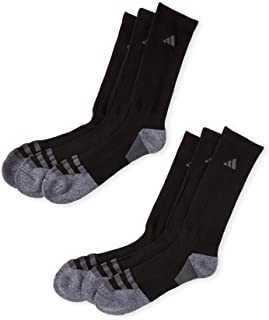 Men's Athletic Crew Socks (6-Pack) (Shoe Size 6-12
