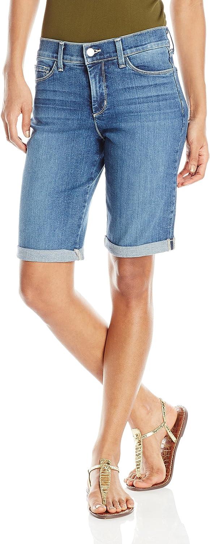 NYDJ Womens Briella Roll Cuff Jean Short Shorts