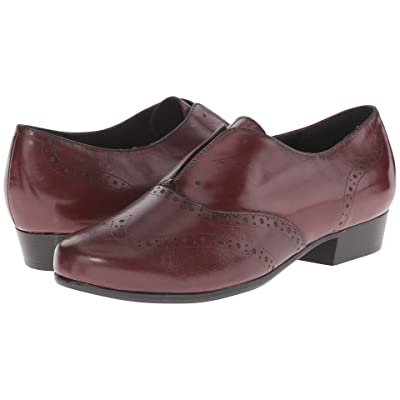 Munro Yale (Wine Leather) Women