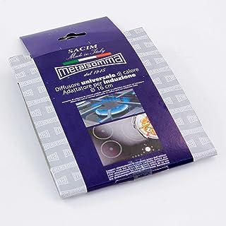 SACIM metalsomma Adaptador para inducción, difusor Universal de Calor, Acero, Gris