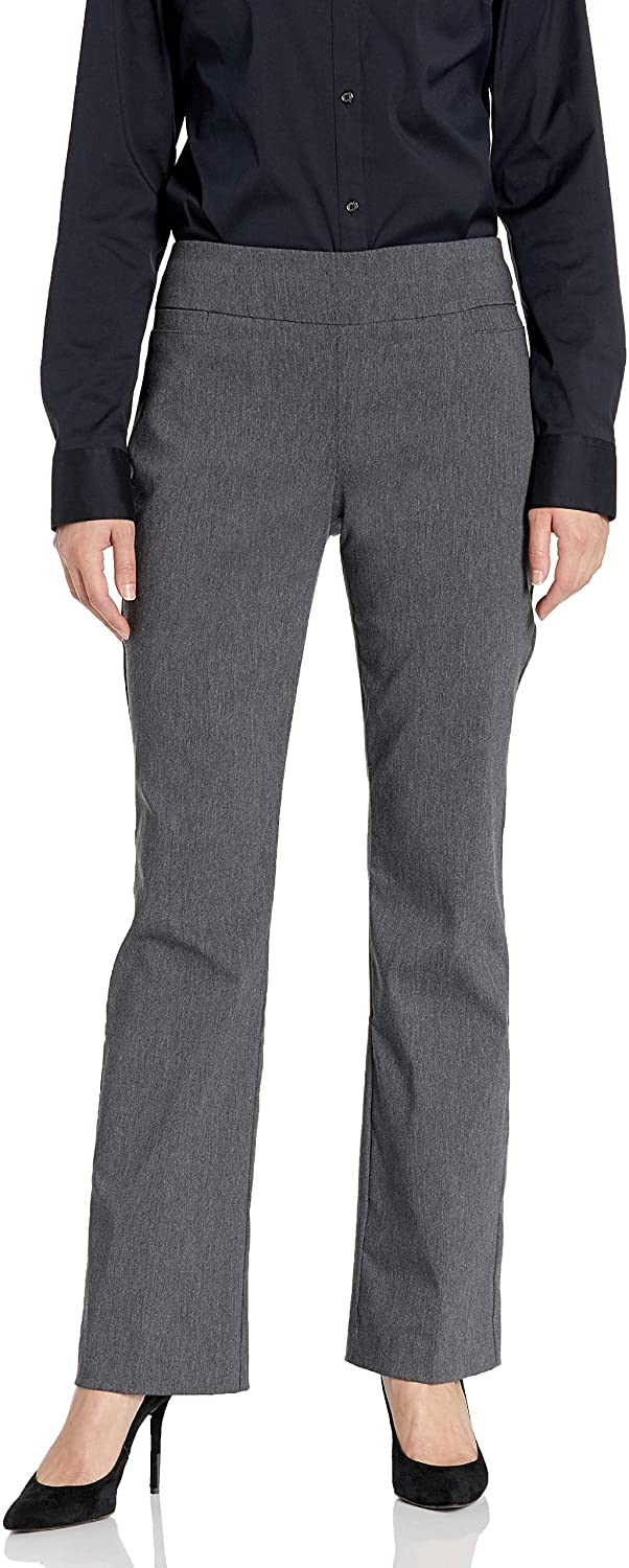 Briggs New York Women's Super Stretch Millennium Barely Boot Pull on Pant