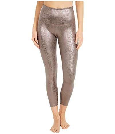 Beyond Yoga Viper High Waisted Midi Leggings (Mocha Viper) Women
