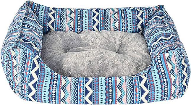 thematys Cestino in Peluche di Alta qualit/à in 3 Diversi Colori e 5 Misure Style 1, XS Lavabile e Resistente ai Graffi casa per Cani e Gatti