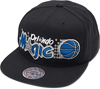 uk availability fb579 dec9c Mitchell   Ness Orlando Magic HWC HSSMM18123 Wool Solid Snapback Cap Kappe  Basecap Black