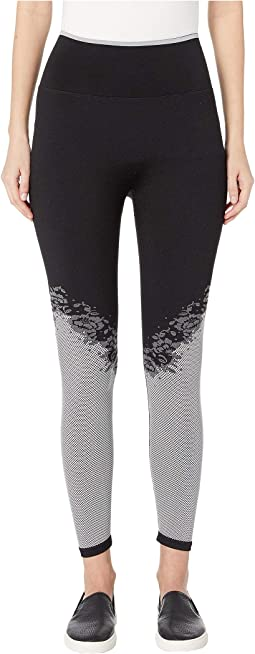 Heart It Floral Jacquard Leggings