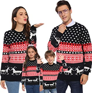 Best matching family sweaters Reviews