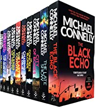 Michael Connelly Harry Bosch Series 10 Books Collection Set (The Black Echo, The Late Show, City of Bones, The Concrete Bl...