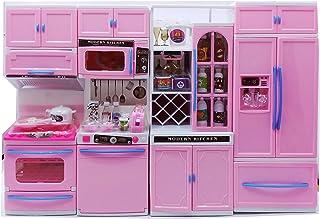 Amazon In Barbie Kitchen Toys Pretend Play Toys Games