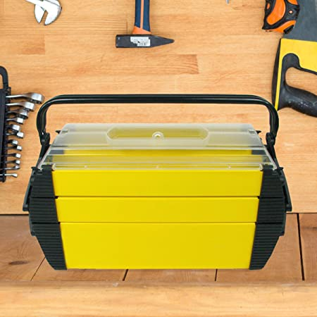 """Stalwart 75-3082A 18"""" Cantilever 2 Tray Tool Box"""