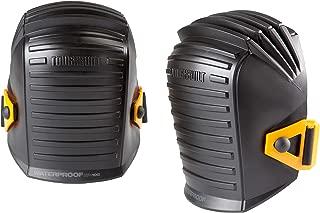ToughBuilt Waterproof Professional Knee Pads - Scratch Resistant & Foam Inner Shell