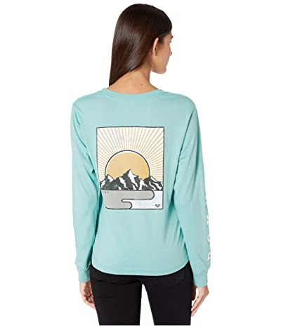 Roxy Mountain View Long Sleeve Vintage Tee (Canton) Women