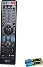 HQRP Remote Control for LG 32LG30 32LG30DC 32LG40 32LG60 32LG70 32LH20 32LK330 32LK450 60PZ750 LCD LED HD TV Smart 1080p 3D Ultra 4K + HQRP Coaster