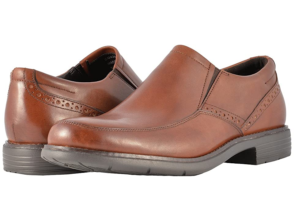 Rockport Total Motion Classic Dress Slip-On (New Brown) Men