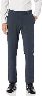 Haggar Men's Premium No-Iron Expandable-Waist Plain-Front Pant