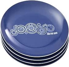 Vandor Doctor Who 8-Inch Ceramic Plates, 4-Piece Set (16037)