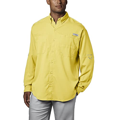 f80feff266e Columbia Men's PFG Tamiami II Long Sleeve Shirt, UPF 40 Sun Protection,  Wicking Fabric