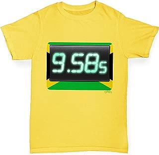 100 Metres Sprint World Record Boy's T-Shirt