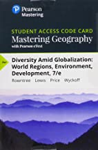 Mastering Geography with Pearson eText -- Standalone Access Card -- for Diversity Amid Globalization: World Regions, Envir...