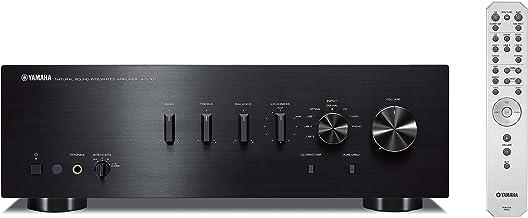 Yamaha A-S701 - Amplificador integrado estéreo de 160 W por canal, color negro